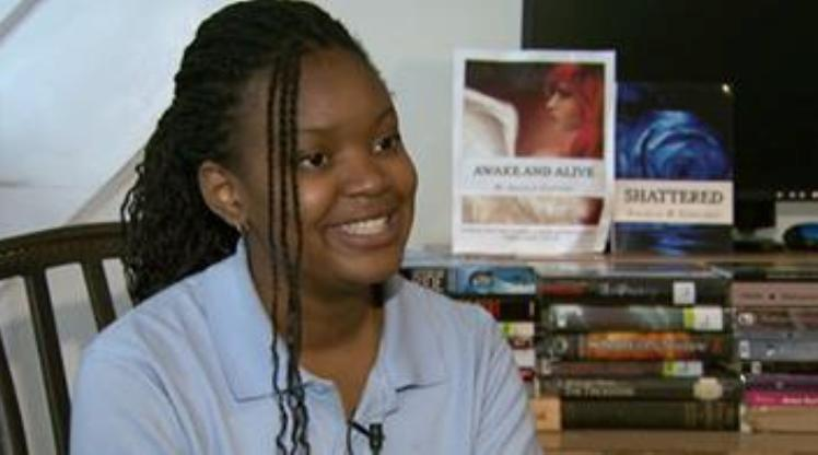 Angela Content: 13 year old becomes a published author of two books
