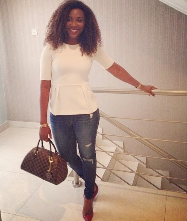 Genevieve Nnaji's this weekend look…