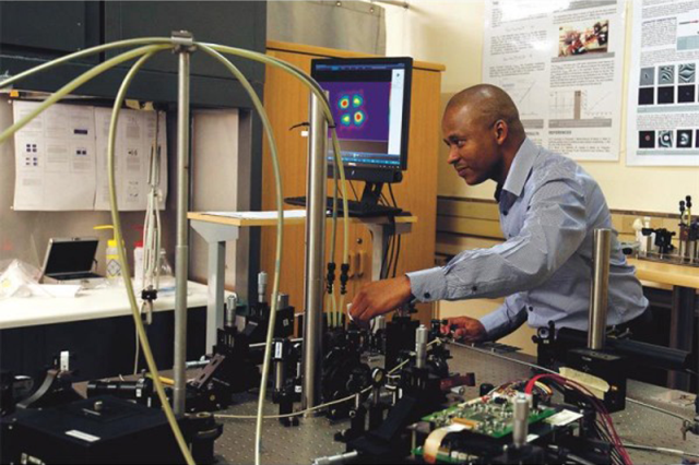 TBT Sandile Ngcobo: The man behind the Worlds First Digital Laser Designed and Built in Africa