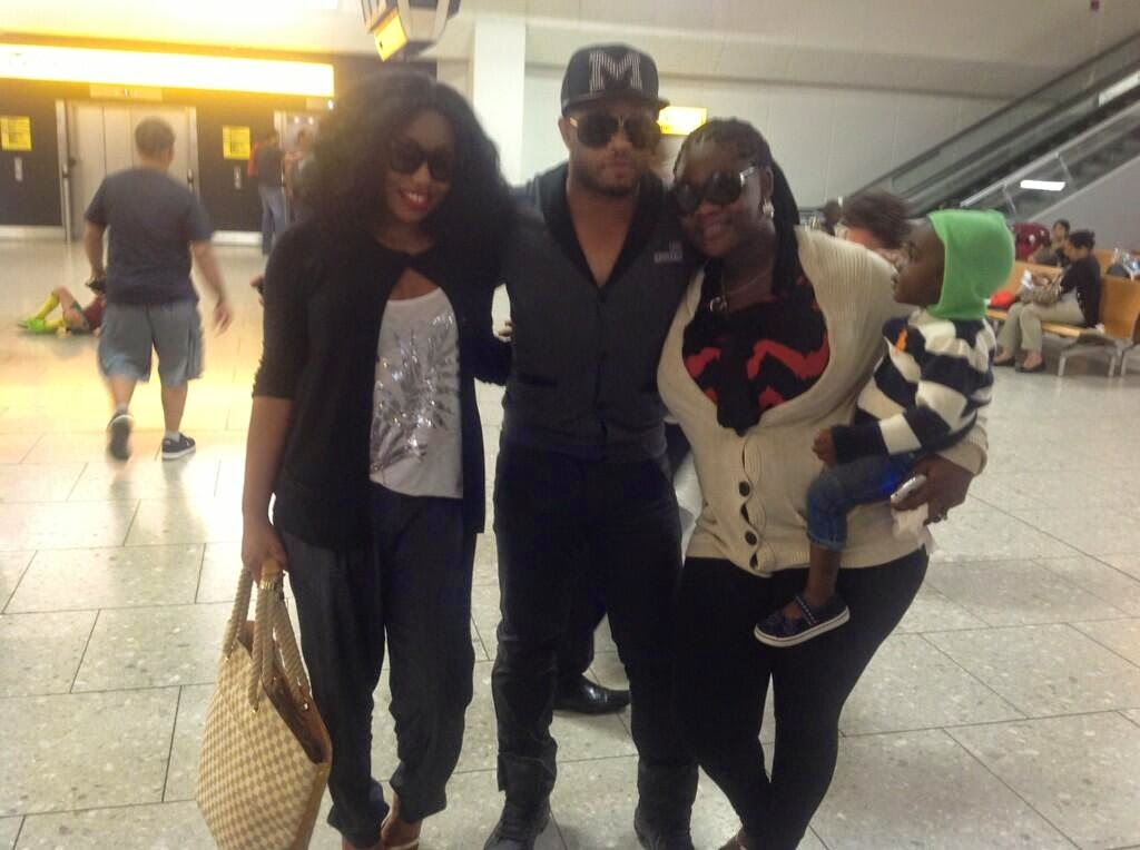 Spotted: Nollywood stars, Rita Dominic, Mercy Johnson, and Mike Ezuruonye were seen in London on Saturday.