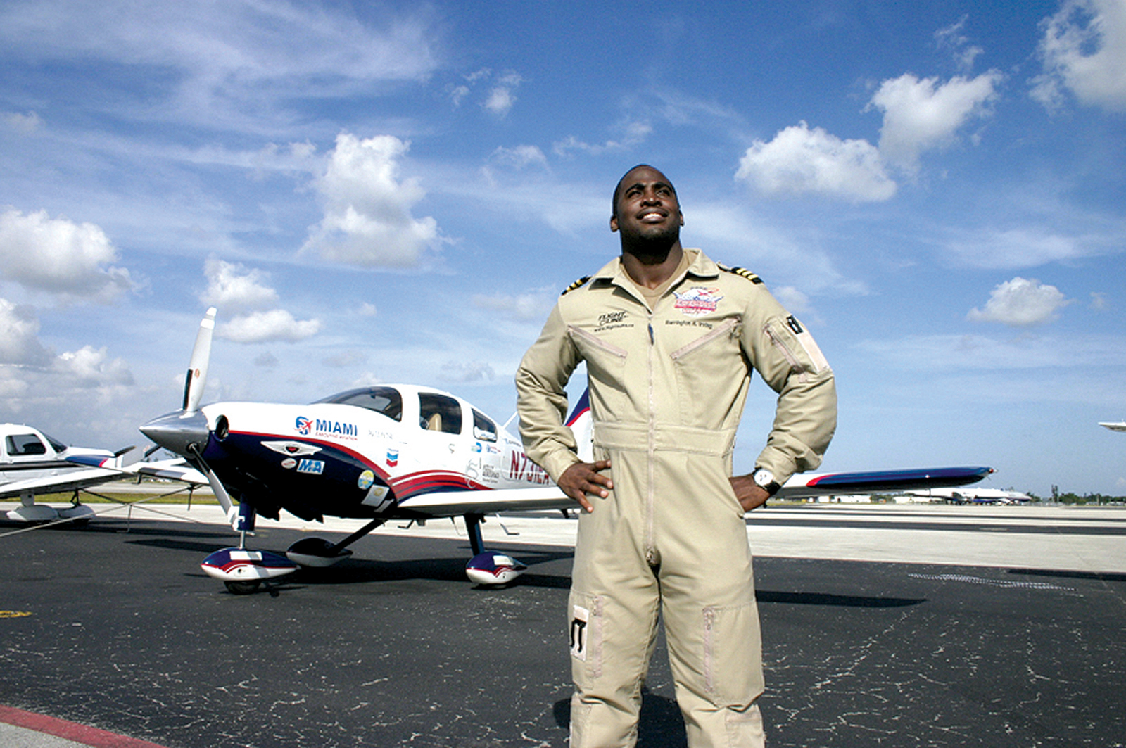 Barrington Irving Jr. :First Black Pilot to Fly Around the World