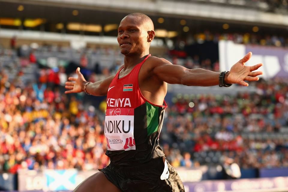 Congrats! Jonathan Ndiku of Kenya  sets a new Commonwealth Games record!