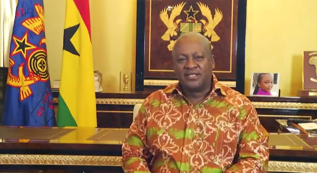 New Year Message to Ghanaians From President John Mahama