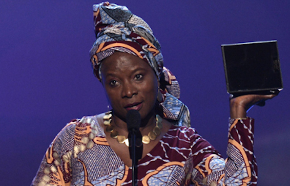 Celebs who give back: Angelique Kidjo Dedicates Grammy to women of Africa