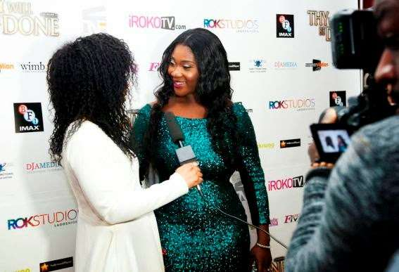 mercy johnson movie-premier