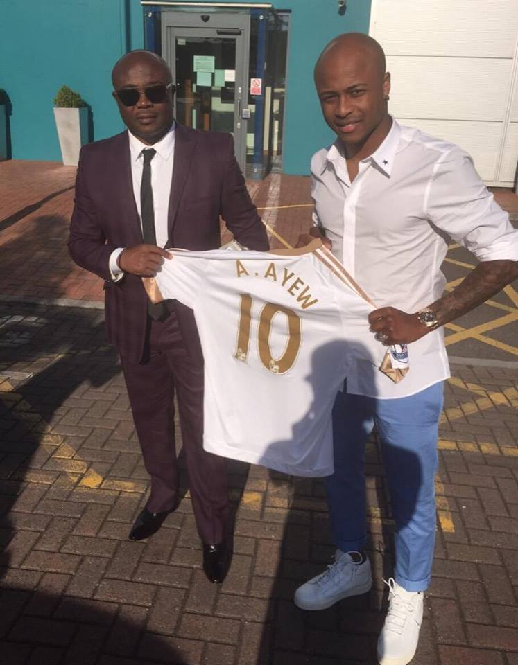 Andre Ayew is officially Swansea FC player…