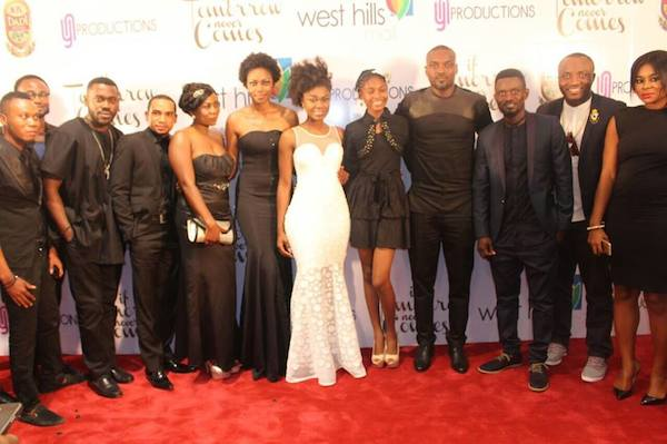 Yvonne Nelson: Movie Premiere Of If Tomorrow Never Comes