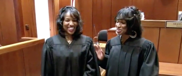 History Makers: Identical twin sisters both become judges