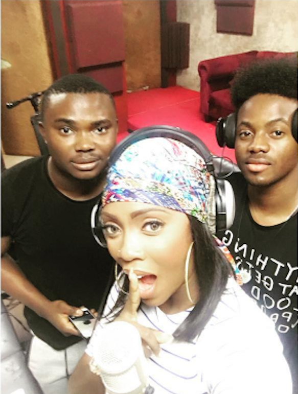Nigerian Artist Tiwa Savage: Back to work…