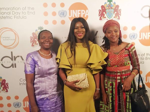 Photos: Stephanie Linus At The Screening Of Her Movie DRY In Gambia