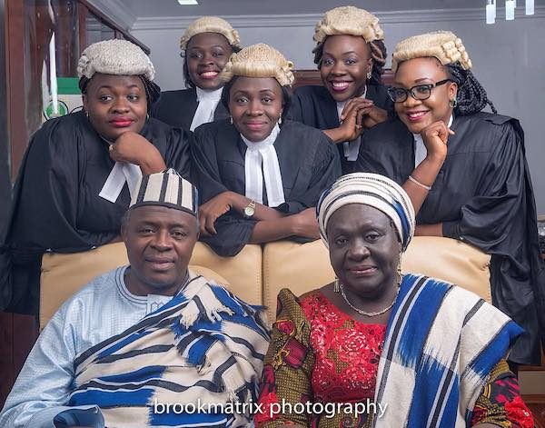 Married For 35 years With 5 Daughters Who Are All Lawyers….