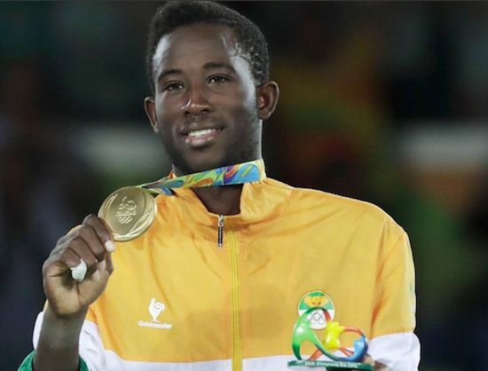 Athlete Spotlight: Sallah Cisse Wins Gold For Ivory Coast…