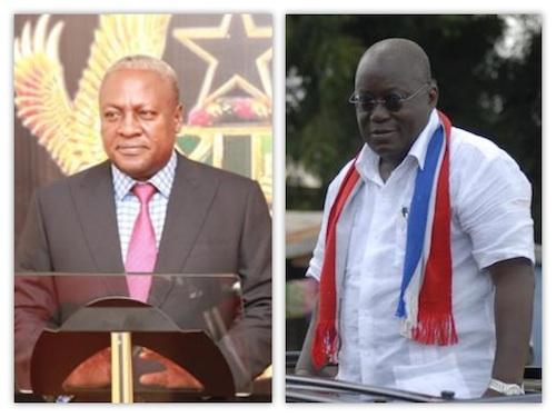 Ghana Election 2016 Countdown: Nana Akufo Addo vs John Mahama