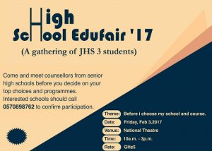 Accra to host maiden High School Edufair