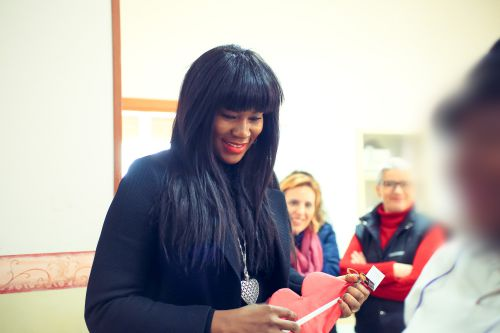 Human Trafficking Awareness: Stephanie Linus Meets With Victims Of Human Trafficking In Italy