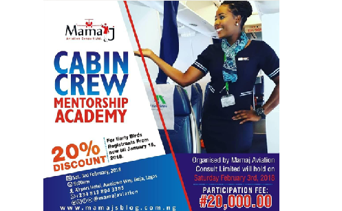 Mamaj Aviation Consult Limited: Cabin Crew Mentorship Academy