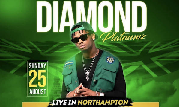 Diamond Platnumz Live Northampton