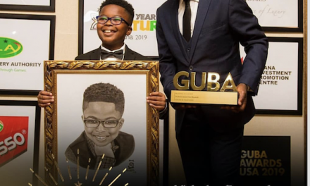 Nicholas Buamah Wins Young And Talented Award At GUBA USA