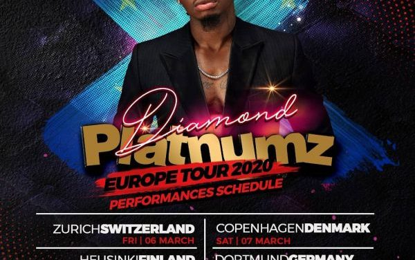 Diamond Platnumz 2020 Europe Tour